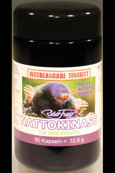 Nattokinase Kapseln für Maulwürfe, 90Kap.