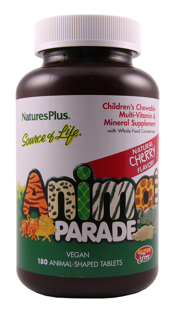 Animal Parade Kirsche Kindervitamine, 180 Tab.