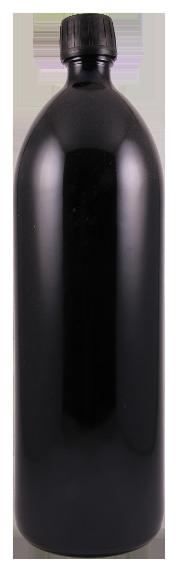 Miron Wasserflasche Violett-Glas 1000 ml