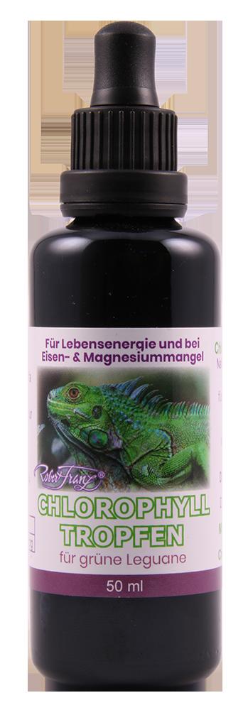 Chlorophyll Tropfen für grüne Leguane, 50 ml