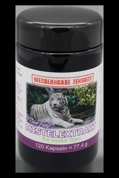 Mistelextrakt für weiße Tiger, 120 Kap.
