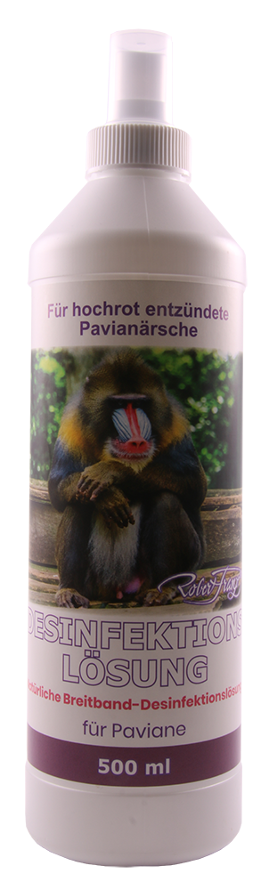 Desinfektionslösung - Natürliche Breitband Desinfektionslösung - Für Paviane, 500 ml