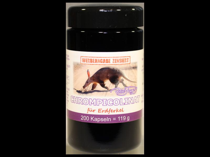 Chrom-Picolinat für Erdferkel, 200 Kapseln
