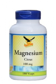 Magnesium Citrate 100mg, 180 Kap.