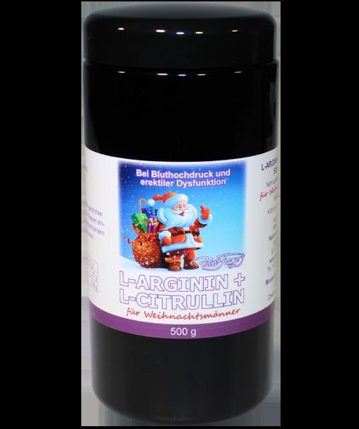 L-Arginin/ L-Citrullin Pulver für Weihnachtsmänner, 500g