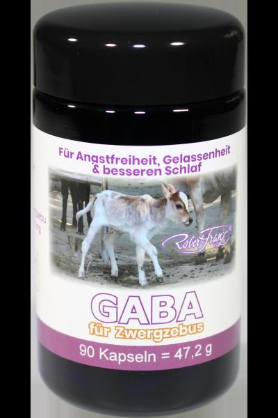 GABA Kapseln – Für Zwergzebus, 90 Kapseln