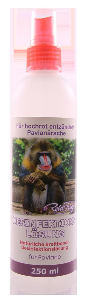 Desinfektionslösung - Natürliche Breitband Desinfektionslösung - Für Paviane, 250 ml