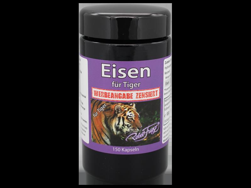 Eisen für Tiger, 150 Kaps.