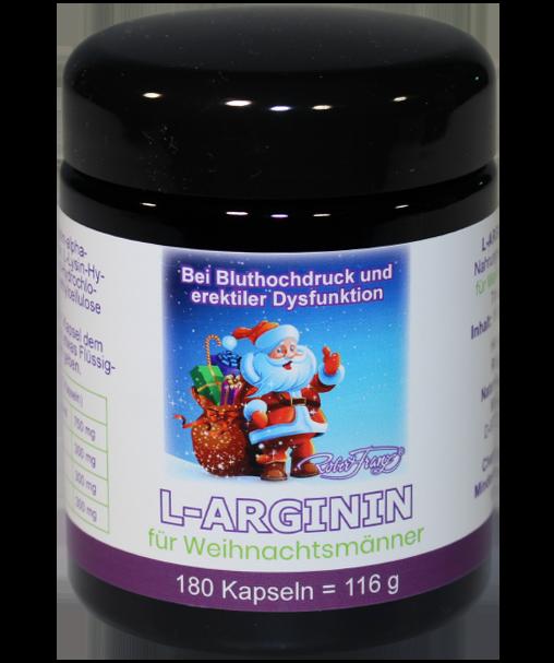 L-Arginin Kapseln für Weihnachtsmänner, 180 Kap.