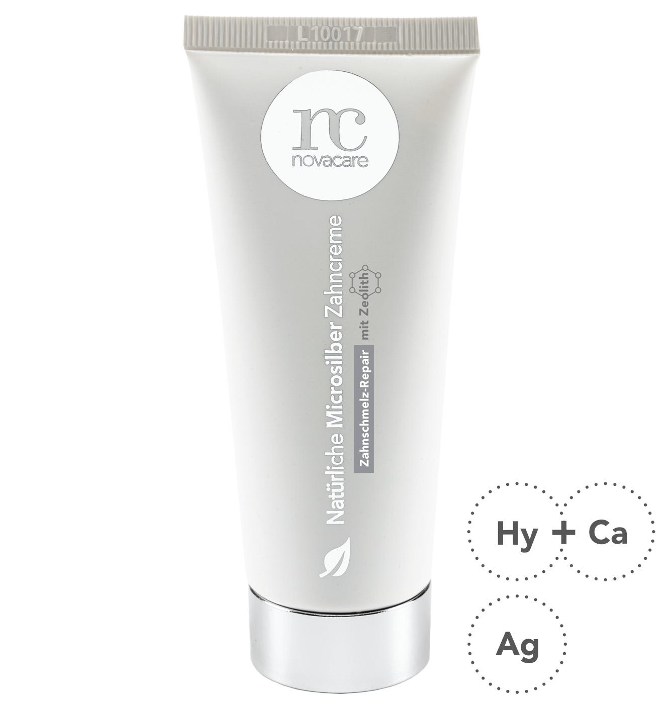 Novacare Bio Zahncreme mit Zeolith, 75 ml