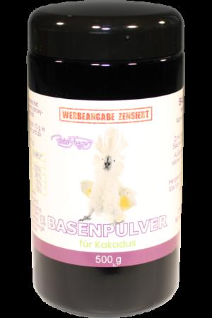 Basenpulver – für Kakadus, 500g